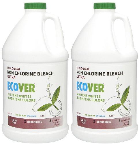 Bleach Laundry Ecover (Ecover Non-Chlorine Bleach - 64 oz - 2 pk)