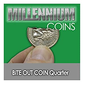 Millennium Coins Bite Out Quarter by E-Z Magic