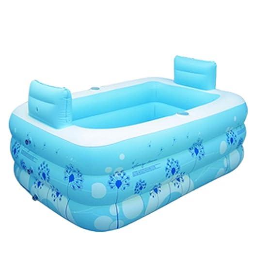 Bathtubs Bañeras inflables Bebes Bañera Hinchable, bañera Plegable ...