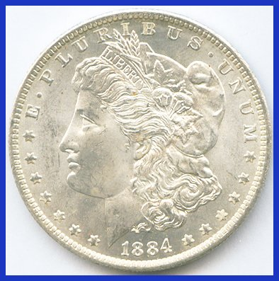 1884-o Morgan Dollar   B001BXW36E