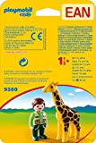Playmobil Zookeeper with Giraffe 9380 - Playset 1.2.3 Playmobil Baby Items