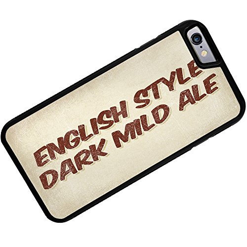 (Case for iPhone 6 Plus English Style Dark Mild Ale Beer, Vintage style - Neonblond)