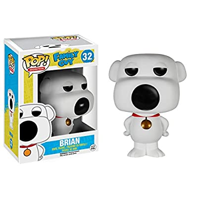Funko POP TV: Family Guy Brian Action Figure: Funko Pop! Television:: Toys & Games