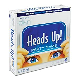 Spin Master Games Head's Up Party Game - Editions May Vary