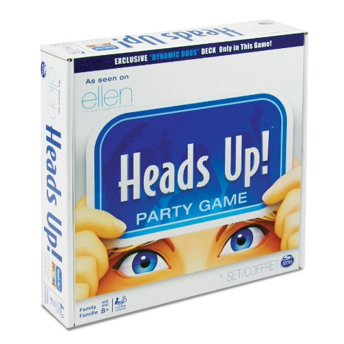 Spin Master Games, Heads Up! Board Game (Edition May Vary) by Spin Master Games