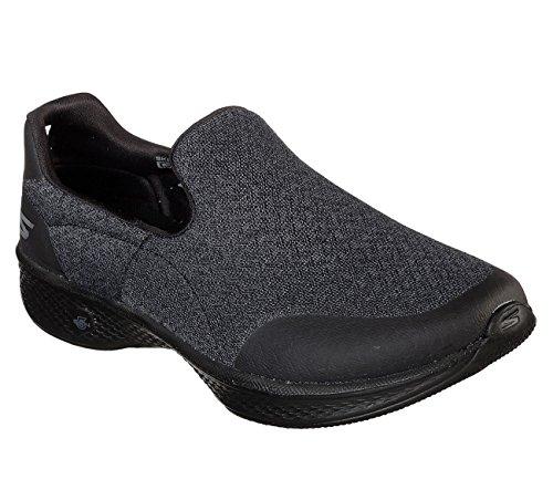 Nero 4 Donna Sneaker Go Skechers Walk Infilare qY7EEf
