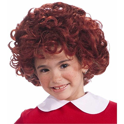 Annie Wig Costume Accessory Red -
