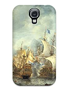 First-class Case Cover For Galaxy S4 Dual Protection Cover Ship Fantasy Abstract Fantasy