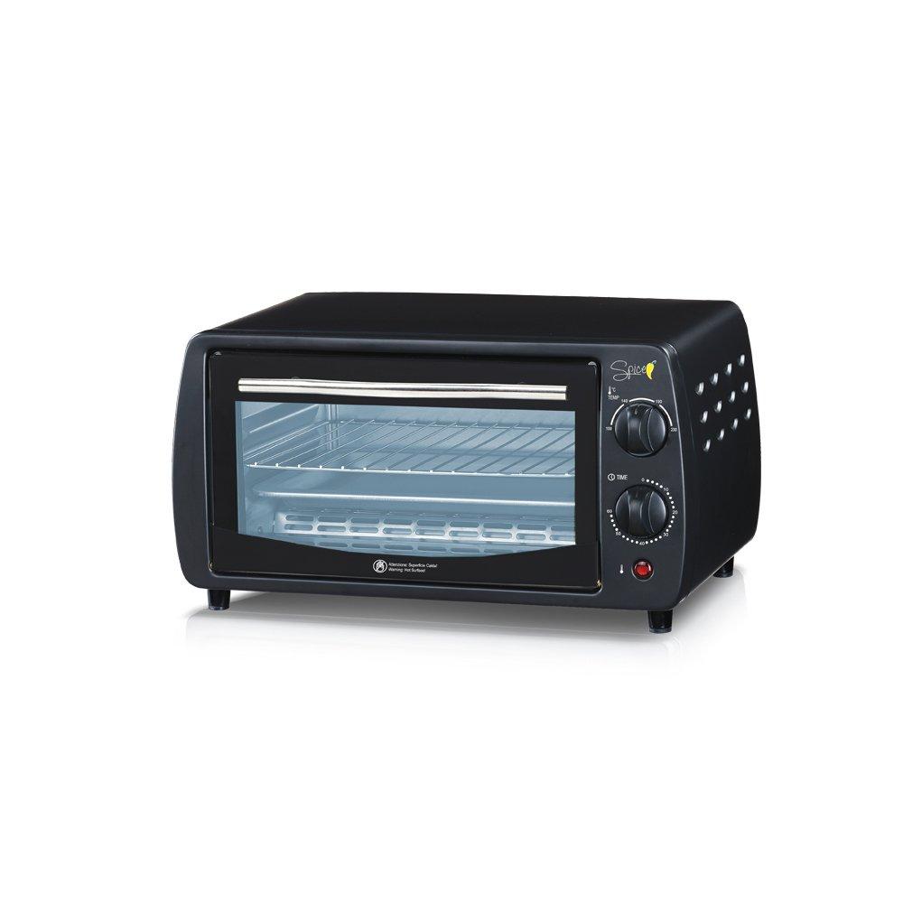 Spice–Horno eléctrico ventilado Habanero– L––W–Doble cristal– selezioni de cocción Incluye diferentes cocinar