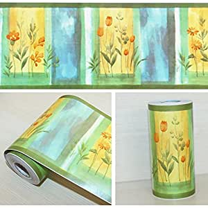 8 Inch Wallpaper Border Peel And Stick