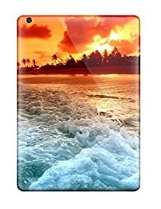 SMxYw4489xCeIE Case Cover Protector For Ipad Air Ocean Sunset Case