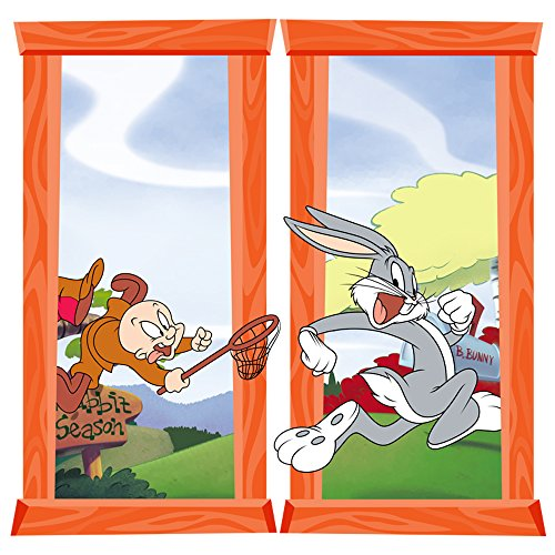 (Looney Tunes Bugs Bunny Large Window Wall Decals)
