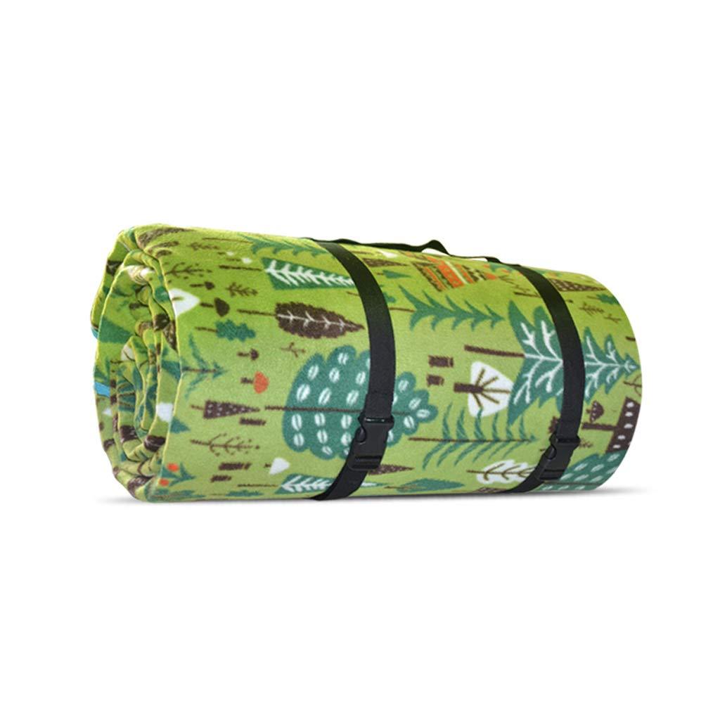 Coperta da picnic Tappetino da picnic, imbottitura a prova di umidità 200  300 ispessimento lavabile in pile tenda da campeggio mat (colore   A, dimensioni   200x300cm)