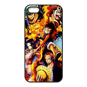 One Piece Anime iPhone5s Cell Phone Case Black Customize Toy zhm004-3831489