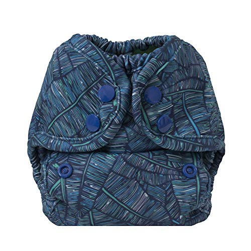 Buttons Cloth Diaper Cover – Newborn Snap (7-12lbs) (Cabana)
