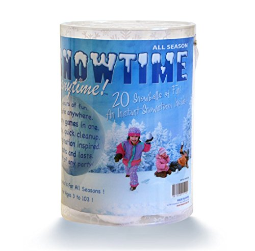 Indoor Snowball Fight SNOWTIME ANYTIME 20 Pack]()