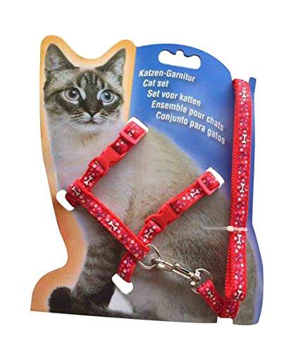 Freerun Cute Cartoon Adjustable Pet Cat Boby Harness Leash Lead Dog Rabbit Walking Lead (Clever Cat Costume)