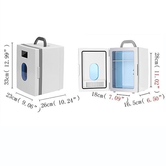 XXGI Caja De Refrigeración Portátil para Medicamentos Y Mini Nevera Y Caja Y Termostato De Insulina Refrigerados para El Refrigerador Pequeño del Coche En ...