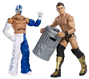 WWE Rey Mysterio vs The Miz Battlepack Figures