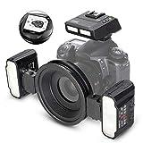 Meike MK-MT24II Macro Twin Lite Flash fit for Canon Digital SLR Cameras