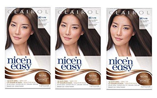 Clairol Nice 'n Easy Hair Color 117D Natural Medium Cool (Easy Cool)