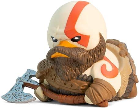 Comprar TUBBZ God of War Kratos Figurilla de Pato de Goma Coleccionable - Mercancía Oficial de God of War - Edición Limitada Única