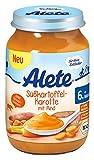 Alete Süßkartoffel-Karotte mit Rind, 6er Pack (6 x 190 g)