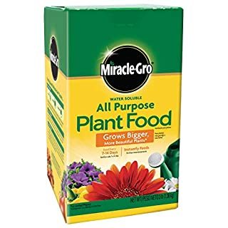 Miracle-Gro Water Soluble All Purpose Plant Food, 3 Lb.