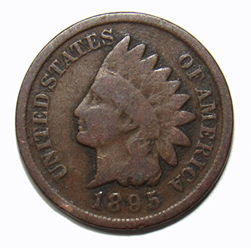 1895 Indian Head Cent 1c Very Good