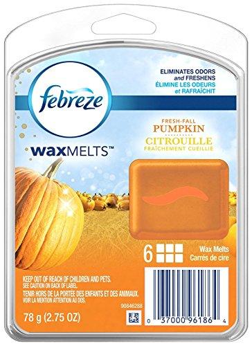 Febreze Wax Melts Fresh Fall Pumpkin Air Freshener (1 Count, 2.75 Oz), 0.172 -