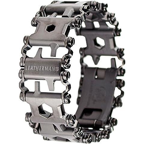 Leatherman - Tread Bracelet, The Travel Friendly Wearable Multitool, Black (FFP) - Modular Knife Sheath