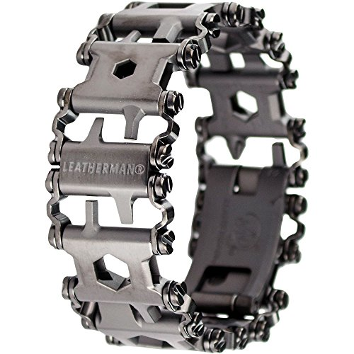 Leatherman - Tread Bracelet, The Travel Friendly Wearable Multi-Tool, Black
