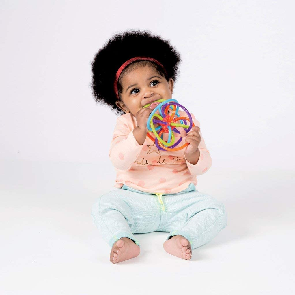 Manhattan Toy Winkel Rattle & Sensory Teether Toy: Toys & Games