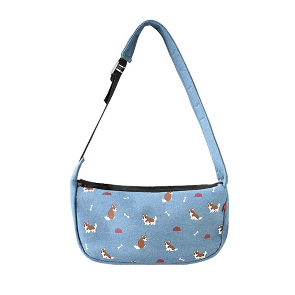 Large Ryan Pet bag, Pet supplies Pet packs Off shoulder bag Pet out of the messenger bag (Size   Large)