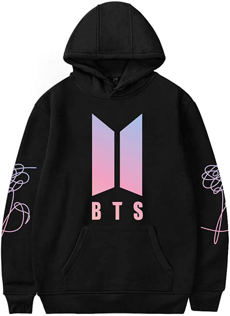 Amazon.com: Imilan Womens Novelty Hoodie BTS Wonder HER Answer Tear Print Hooded Sweatshirt: Clothing