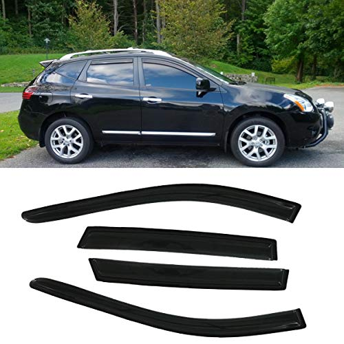 nissan rogue window deflector - 7