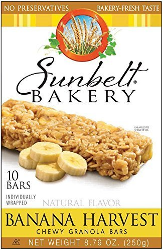 Sunbelt Bakery: Banana Harvest Chewy Granola Bars (4 Boxes)