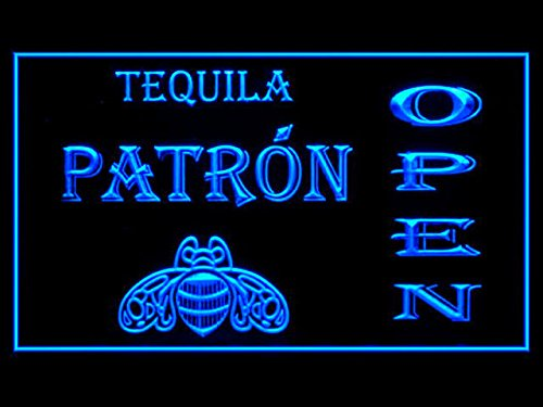 Patron Tequila Beer Open Drink Led Light Sign