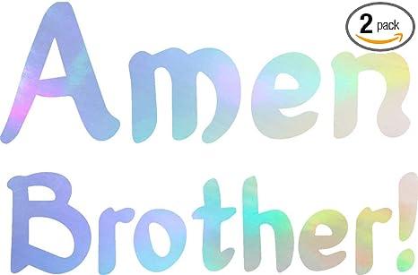 Amazon com: ANGDEST Amen Brother Prayer Religious Christian