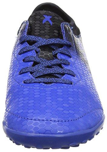 adidas X Tango 16.3 TF J, Botas de Fútbol Niños Azul (Blue / Core Black / Shock Pink)