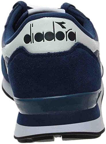 Diadora Herren Camaro Leder Skateboard Schuh Saltire Marine / Weiß