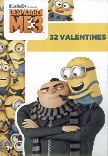 Despicable Me 3 Kids Valentines Day Card Classroom Exchange (32 -