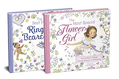 The Flower Girl and Ring Bearer 2-Book Wedding Gift Set