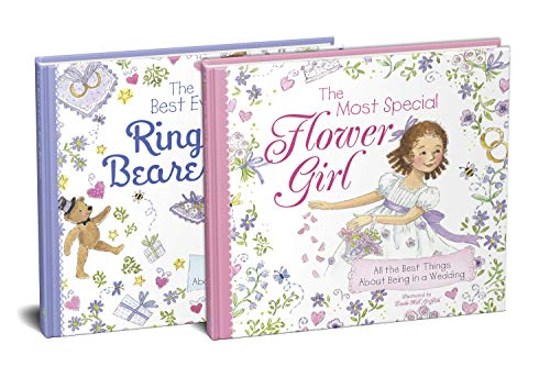 The Flower Girl and Ring Bearer 2-Book Wedding Gift Set -