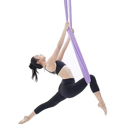 Yoga Hamaca Aéreo Antigravedad Volar Columpios Aéreos El ...