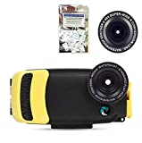 Watershot PRO Kit for iPhone 6/6s + PLUS (Sunfish) (flat + wide angle lens port) w/ FREE Moisture Munchers