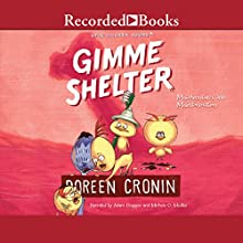 Gimme Shelter: Misadventures and Misinformation Audiobook by Doreen Cronin Narrated by Michelle O. Medlin, Adam Grupper