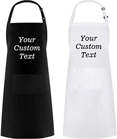 Any Text And Image Available! Personalised Kitchen Apron