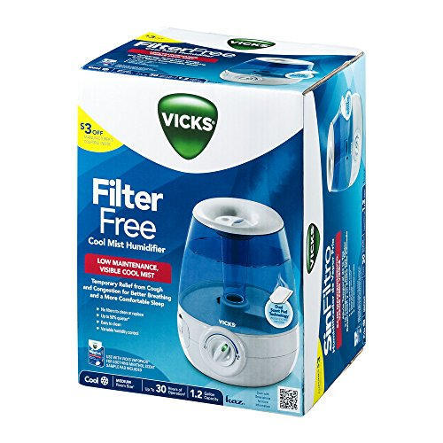 how to clean vicks projector cool mist humidifier