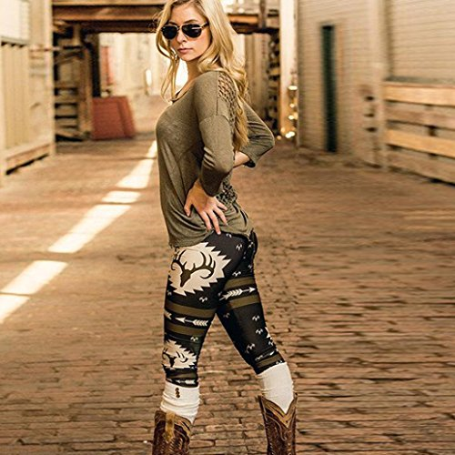 wensltd-women-new-design-elk-deer-skinny-printed-stretchy-pants-leggings-m-black